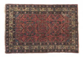 A Lilihan Wool Rug, 6 Feet 4 Inches X 4 Feet 3 In