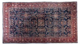 A Sarouk Wool Rug, 12 Feet 3/4 Inches X 21 Feet 1
