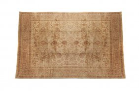 A Tabriz Wool Rug, 9 Feet 6 Inches X 12 Feet 6 In