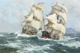 Charles Vickery, (American, 1913-1998), Pirates Att