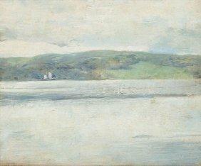 Emil Carlsen, (American, 1853-1932), Calm Seascape