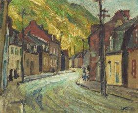 Jonas Lie, (American/Norwegian, 1880-1940), Villag