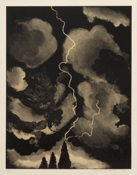 David Hockney, (British, B. 1937), Study For Ligh