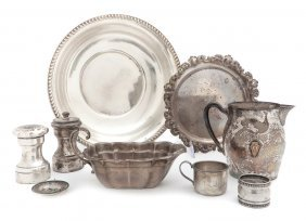 A Collection Of American Sterling Silver Articles
