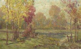Fred De Forrest Schook, (American, (1872-1942), Bab