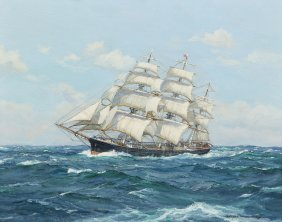 Charles Vickery, (American, 1913-1998), In The Trad