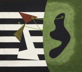 John McLaughlin, (American, 1898-1976), Abstract