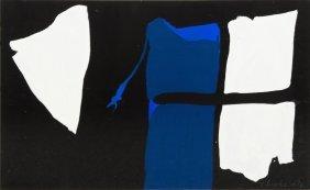 James Brooks, (American, 1906-1992), Untitled, 19