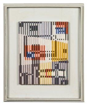 Yaacov Agam, (Israeli, B. 1928), Untitled, C. 196
