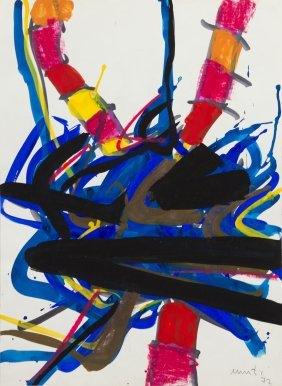 Edo Murtic, (Croatian, 1921-2004), Untitled, 1972