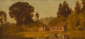 James Renwick Brevoort, (American, 1832-1918), Ruin