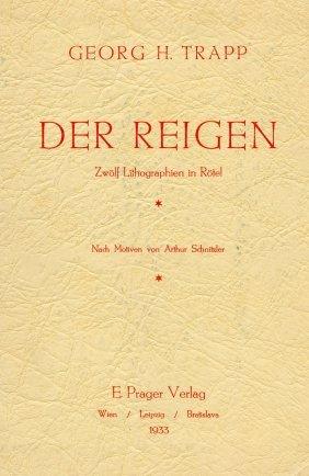 """""""der Reigen"""" - Lithographs By Georg H. Trapp"""