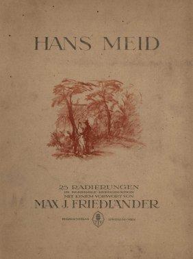 Der Radierer Hans Meid - Prints By Hans Meid -