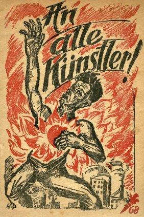 An Alle Kunstler! - Berlin, 1919