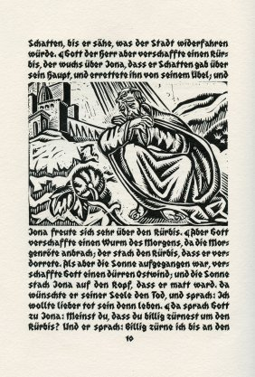 """""""jonah The Prophet"""" - Woodcuts By Adam Antes -"""