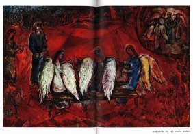 Marc Chagall - Four Books With Original Lithographs /