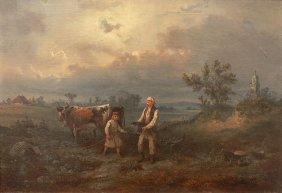 Franciszek Kostrzewski, Before Storm, 1860