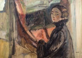 Irena Known As Aneri Weiss, Portrait Of An Artist