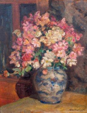Stefan Filipkiewicz, Flowers In A Vase, 1928