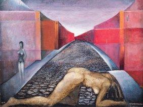 Konstanty Gorbatowski, Nude, 1968