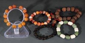 A Group Of Bracelets
