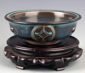"""A Copy Of Finely Made """"jun"""" Porcelain Bowl"""