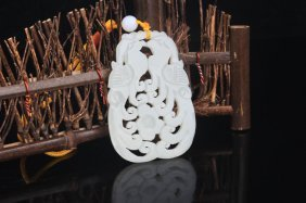A Fine Phoenix Carving Jade