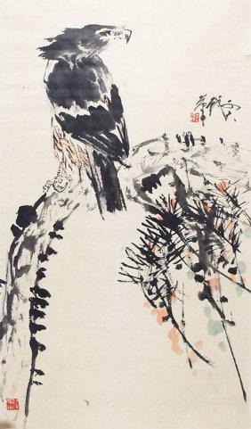 A Wang Ke Da Chinese Painting (attributed To )