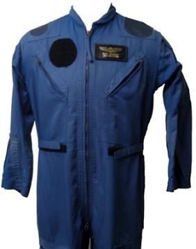Blue Shuttle Flight Suit