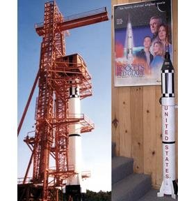 1/12 Scale NASA Mercury Redstone Rocket Model