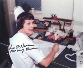 Mercury Nurse Dee O'Hara Autograph