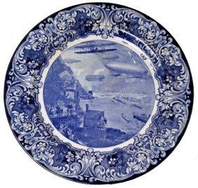 "1909, ""The Aero Plate"" Decorative Plate"