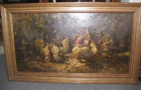 Monticelli (1824-1886), France, 19th C, Oil Painting,