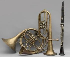 Vari Strumenti: 2 Trombe, Piffero E Corno
