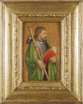 """Antoine De Lonhy (attivo 1446-1490 Ca.) """"san"""