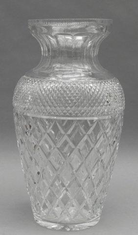 Grande Vaso In Cristallo H.cm.45