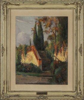Giovanni Colmo (1867-1947) Scalinata Nel