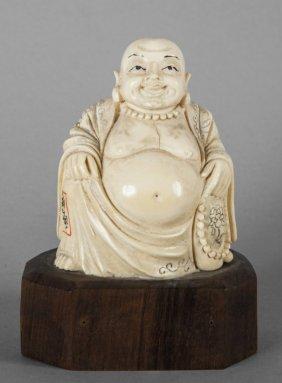Budda, Scultura In Avorio Inizi