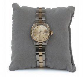 Orologio Rolex Datejust Da Donna In Oro E Acciaio