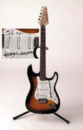 John Lee Hooker Signed Electric Guitar
