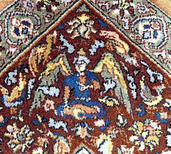 "189: ""PALACE"" SIZE KARASTAN RUG PERSIAN HUNTING SCENES"