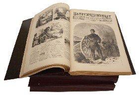 (3) REISSUE OF HARPERS WEEKLY CIVIL WAR 1861-1863