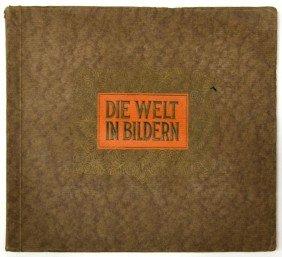 GERMAN 1930'S CIGARETTE CARD ALBUM