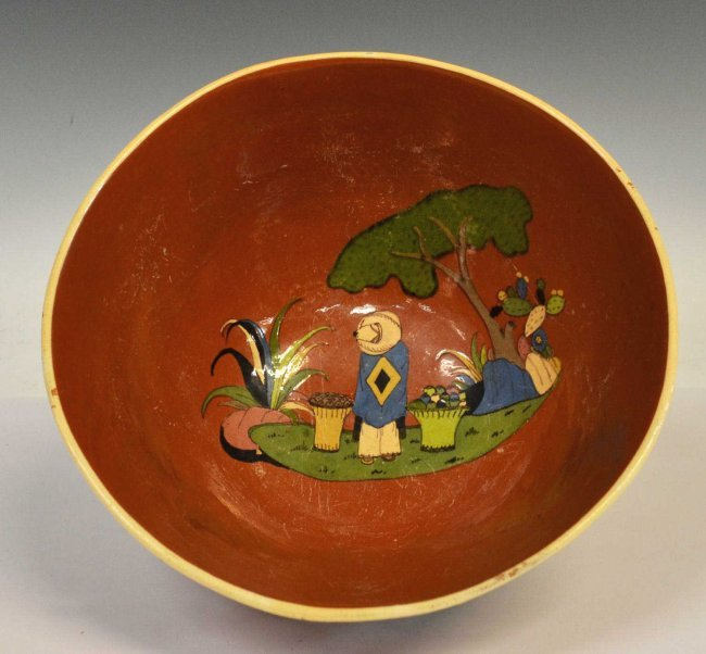 Marks on vintage mexican pottery
