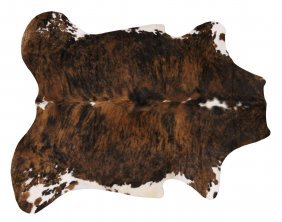 """Large Brazilian Tanned Cowhide, Approx: 74"""" X 88"""""""