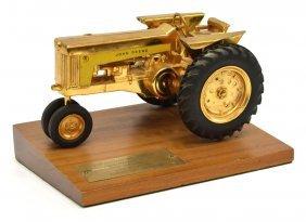 Rare John Deere Tractor Sales Award 1958