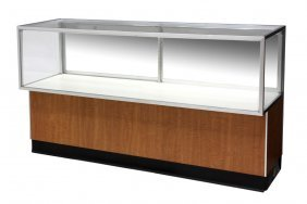 Jewelry Store Lighted Glass Display Cabinet