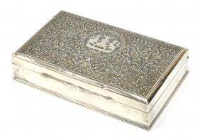 Thai Sterling Silver Presentation Box
