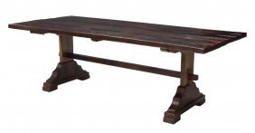 Rustic Teakwood Dining Table