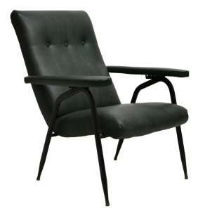 Italian Mid-century Modern Arm Chair, C.1950